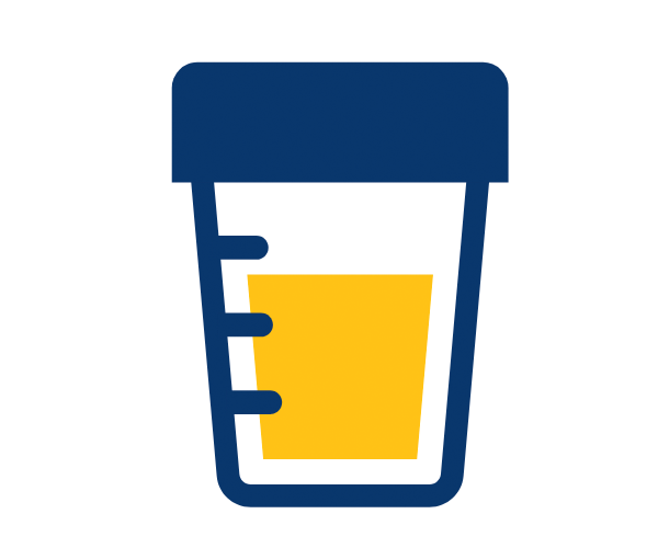 Urine cup icon